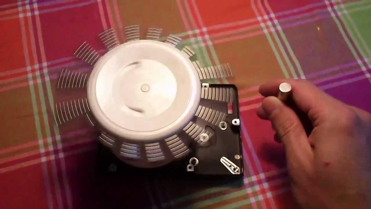 Двигатель на магнитах своими руками