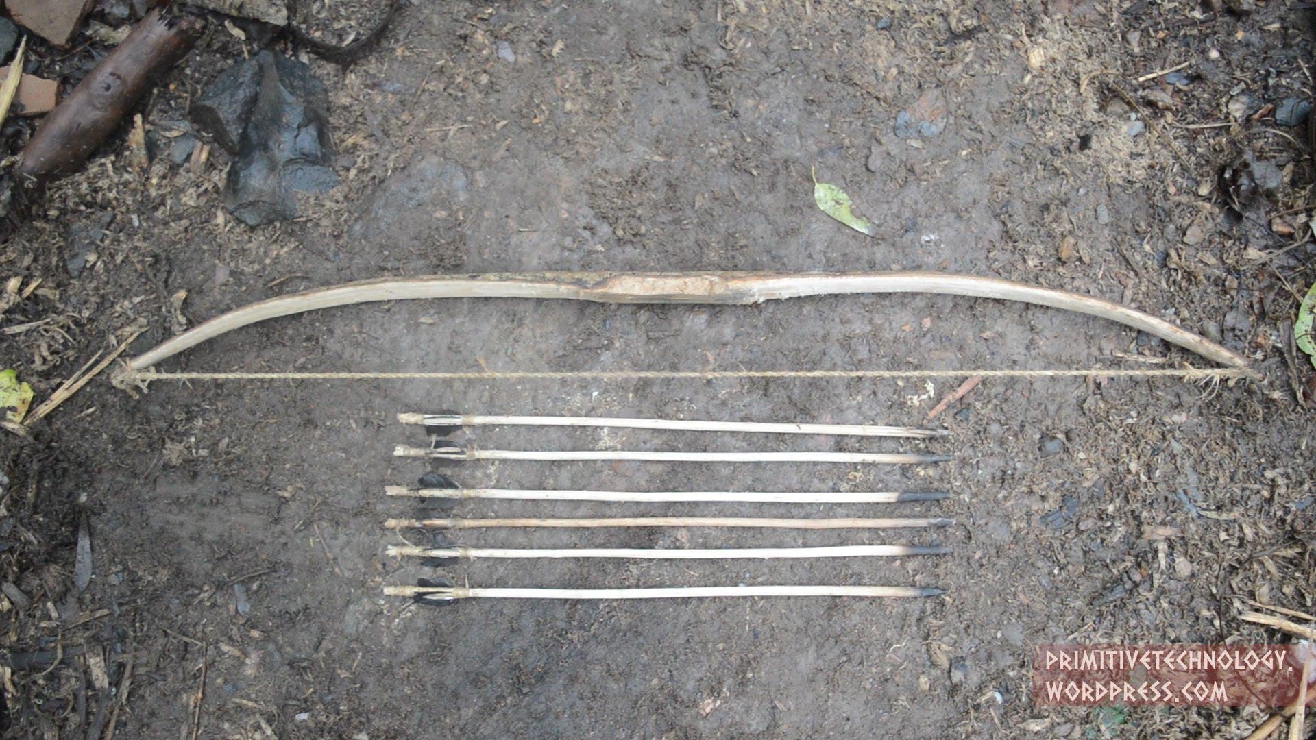 Сделай лук и стрелы своими руками 149