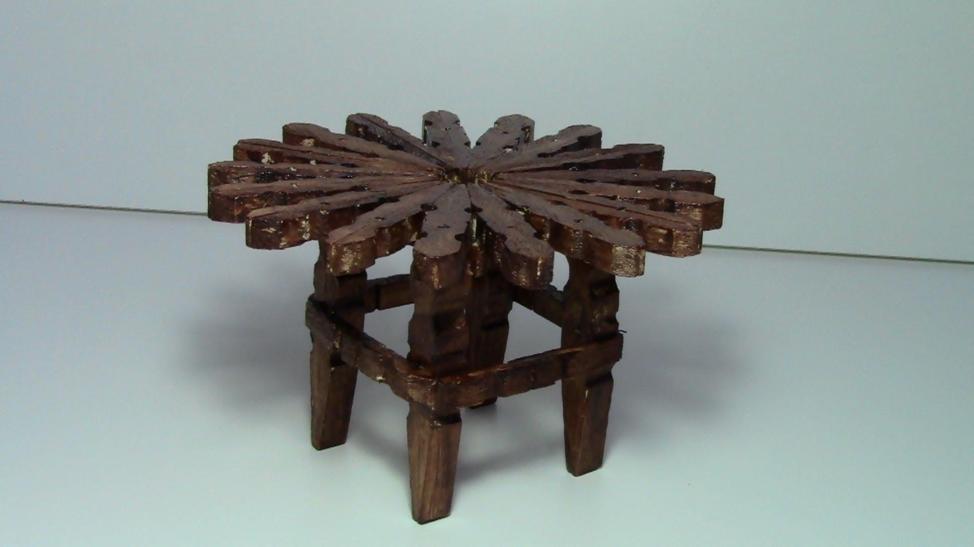 Деревянные поделки из деревянных прищепок