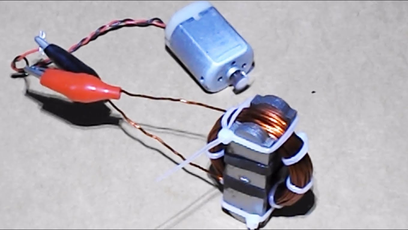 how to build a free energy magnetic motor