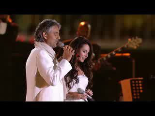 Andrea Bocelli Sarah Brightman Time To Say Goodbye Con Te Partiro