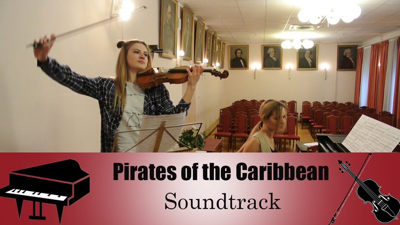 Pirates of the Caribbean - Soundtrack | violin piano cover (скрипка + пианино)