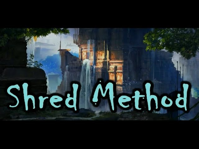 Shred Method - Mezzo-Forte.