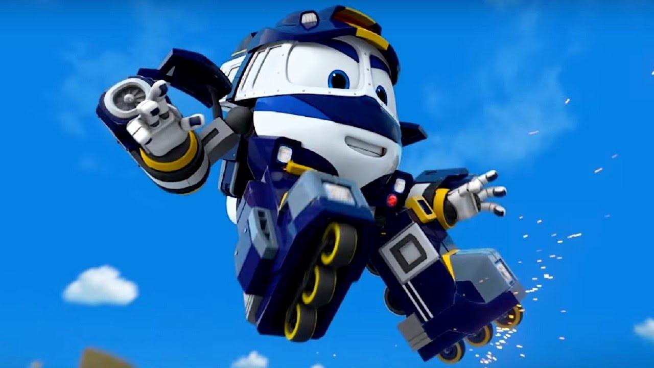 робот поездар мультфильм