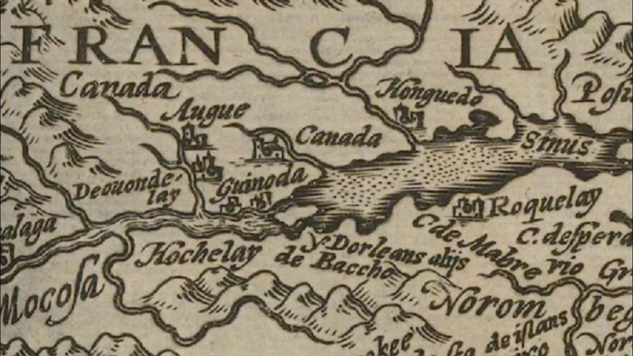 Неизвестные города 16 века северного полушария