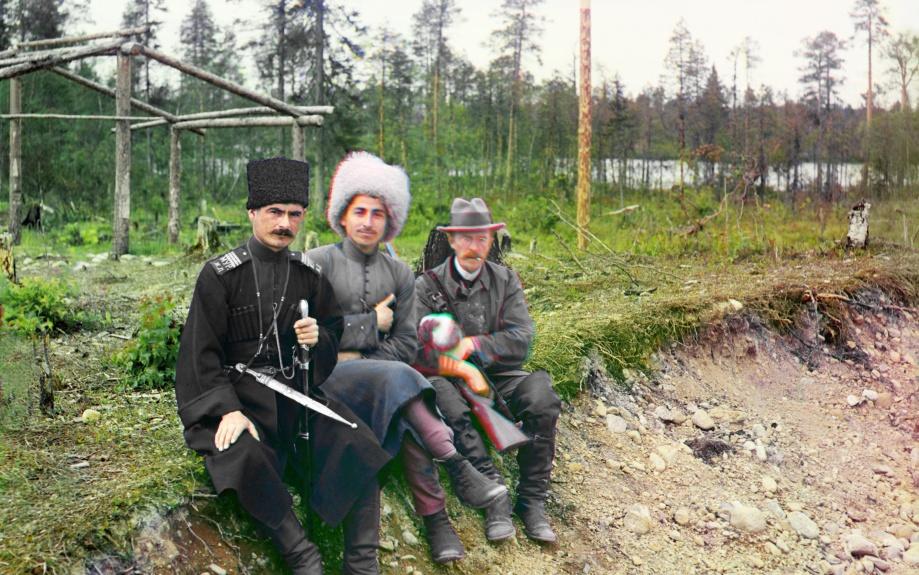 Дореволюционная Россия в натуральных цветах (1905-1916)